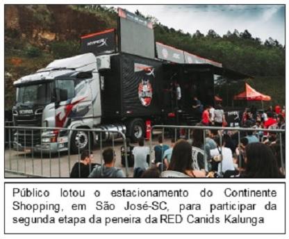 RED Truck HyperX Kalunga