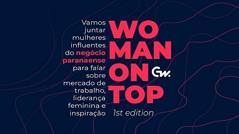 Banner do evento WOMAN on TOP