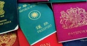 Passaportes leitura com Scanner omnidirecional