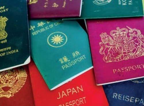 Leitura de passaportes com Scanner omnidirecional