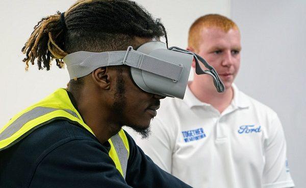 experiência de realidade virtual Ford