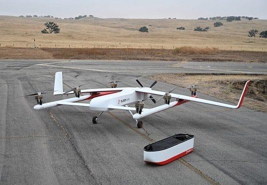drone cargueiro Chaparral da Embraer
