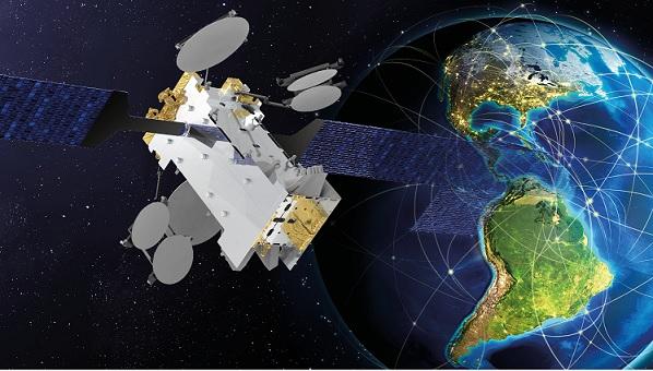 O satélite Amazonas Nexus simulação de órbita