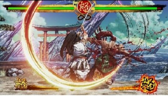 Nintendo Switch luta do Samurai Showdown