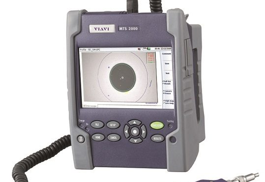 Teste de fibra Óptica