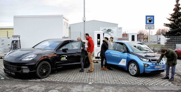 recarga de carros elétricos