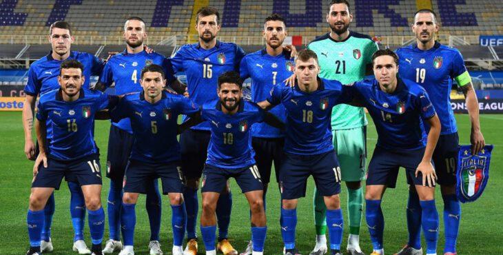 Foto da Seleção da Itália